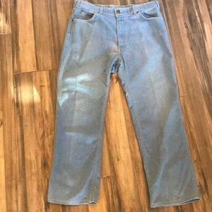 Vintage and Rare Levi's Orange Tab 38x29 Jeans